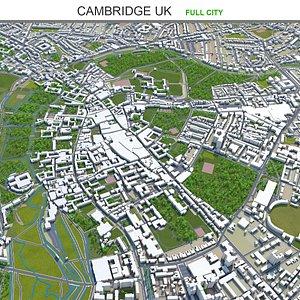 Cambridge UK 3D model