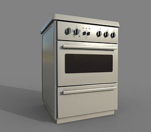 3D model Cooker PBR