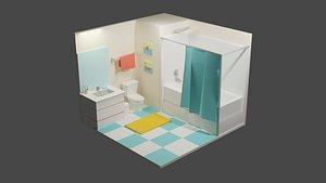 Bath Room 2 model