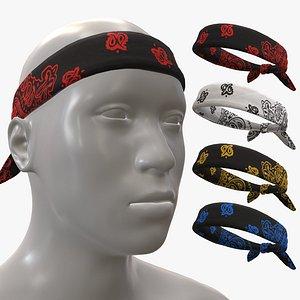 Headbands model