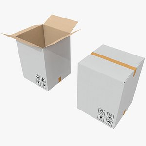 3D model Cardboard Box 12 with Pbr 4K 8K