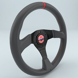 3D steering wheel r383 champion