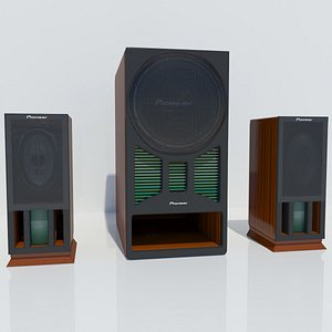 3D Pioneer Home Theater Concept