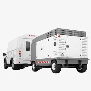 3D Ford F450 2012 Service Truck 05