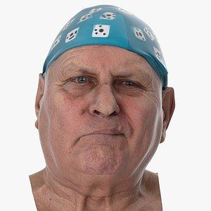 Homer Human Head Lip Bite Left AU32 Clean Scan 3D