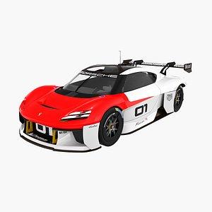 Porsche Mission R GT4 3D