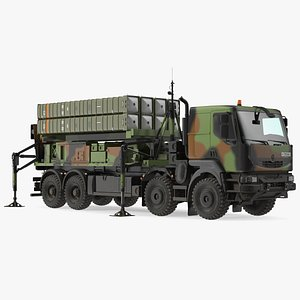 3D SAMP T Medium Range Air Defense Missile System