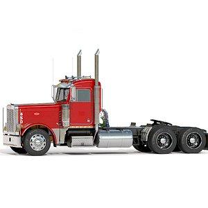 3D truck cab
