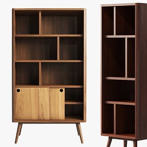 Joybird Owen Bookcase 2 option 3D model