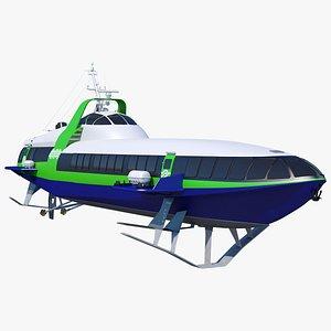 3D craft passenger cometa 120m model