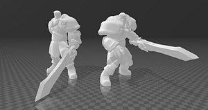 Garen 3D model