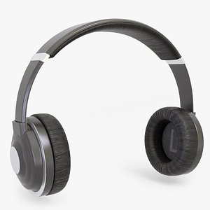 wireless headphones 3D model