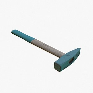 hammer tool industrial 3D
