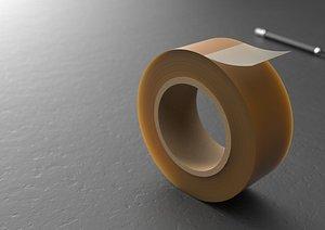 Adhesive tape model