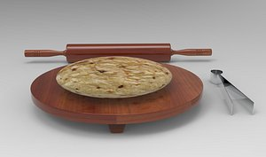 3D Rolling Pin with Board