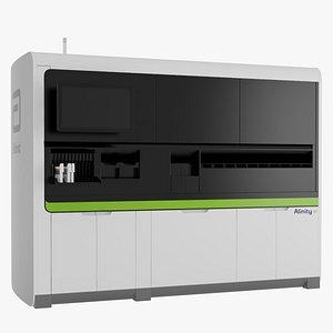 3D Abbott Alinity m Molecular Diagnostics Analyzer model