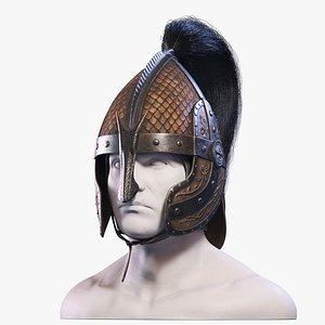3d dragon helmet model