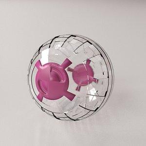 Hamster Ball 3D model
