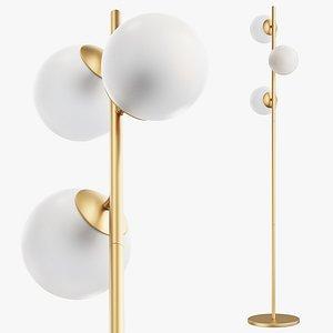 joybird quincy floor lamp 3D model
