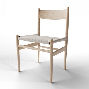 Ch36 Dining Chair 3D