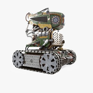 3D model Robot GF32