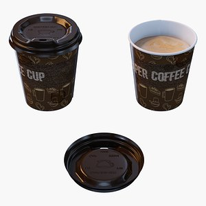 Paper Coffee Cup model
