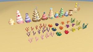 3D sea village
