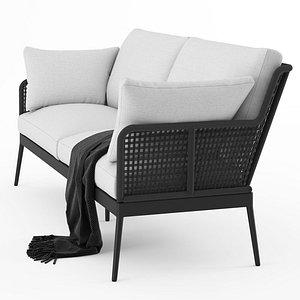 somerset sofa outdoor 3D model