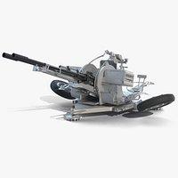 ZU-23-2 High-Poly