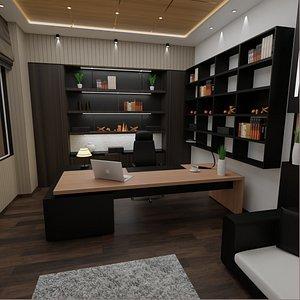 DESK OFFIC 3D model