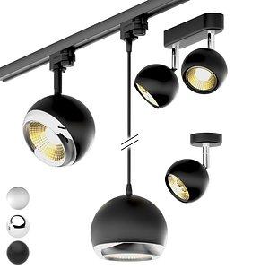 rotate lamps slv light 3D model