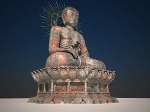 3D buddha sinheungsha model