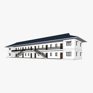 3D unit apartment affordable social