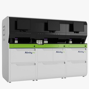 Abbott Alinity hq hs Hematology Slidemaker System 3D
