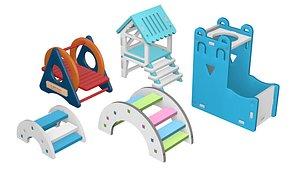 Hamster Toys 1 3D model