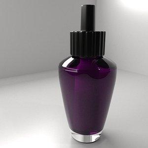 Air Freshener Bulb with Purple Liquid 3D