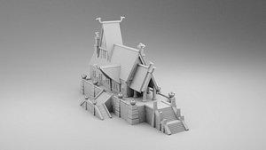 vikings house leader 3D