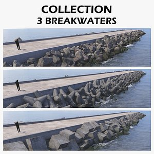 3 Breakwater Collection 3D model