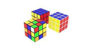 3D RubiksCubesSet