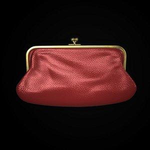3D purse model