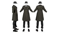 Mens Inspector Full Outfit