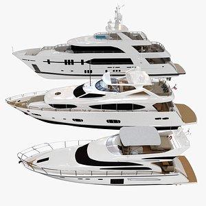 3D model nautical yacht