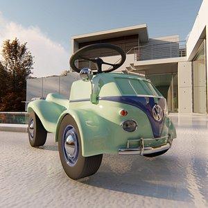 3D volkswagen type 2