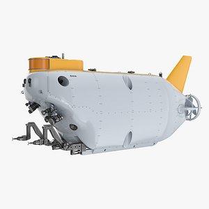 Deep Sea Submersible 02 3D model