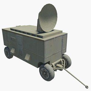 3D son-9 radar flap
