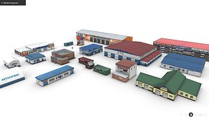 3D Pack Of Car Services