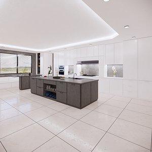 kitchen revit parametric 3D