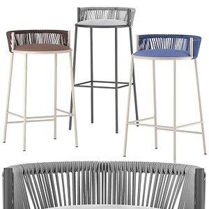 stool millie 3D model
