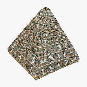 pyramid statue 3D model