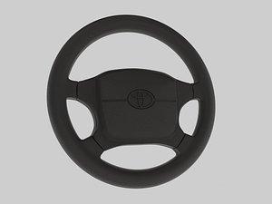 3D Steering wheel Toyota Supra Mk4 model